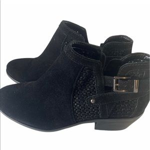 Vince Camuto Suede Booties Women's Size 7.5